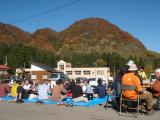 Participants joined the village harvest festival and enjoyed conversation with local residents.