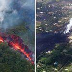 La lava quema Hawaii. Imágenes y videos de la erupción del volcán Kilauea