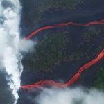 Otra impresionante erupción del volcán Kilauea sigue cubriendo Hawaii de humo y lava