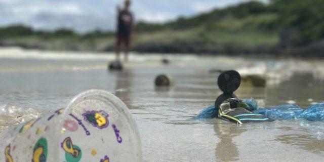microplásticos en el agua