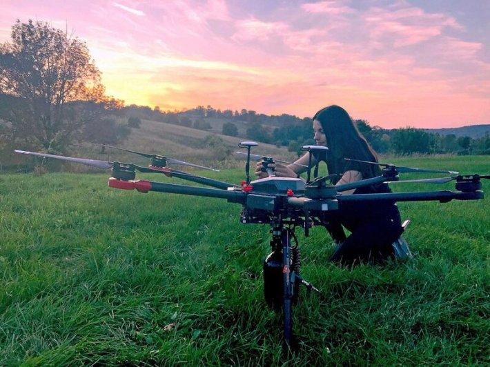 drones, tecnología, semillas, reforestación, deforestación