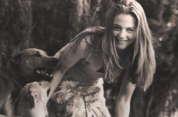 "Alicia Silverstone's pit bull Butterfly is the ""princess of the house."""