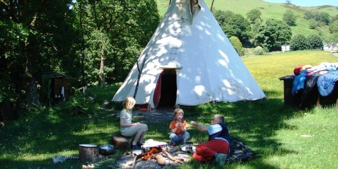 Eco Retreats offer canvas holidays in a tipi (teepee) or yurt u2013 a wonderfully relaxing way to escape the pressures of modern life. & Beautiful tipis and yurts in the heart of Wales | Eco Retreats