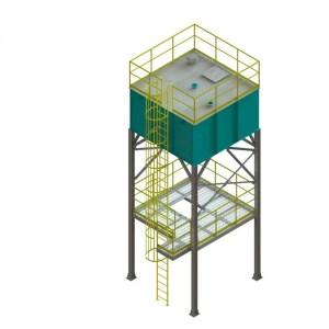 silo para estocagem modelos sl eco sand