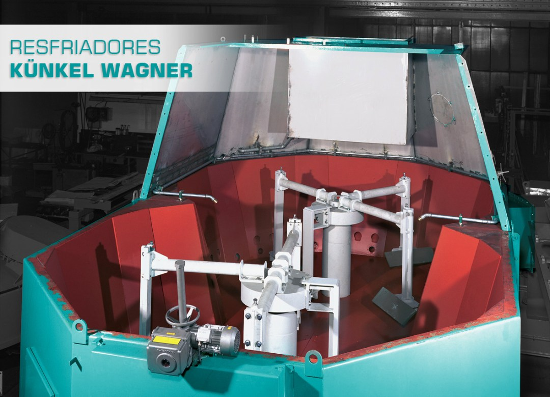 Resfriador Künkel Wagner Eco Sand