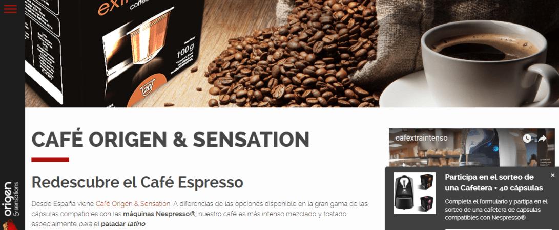 alternativa para cápsula de café espresso Nespresso