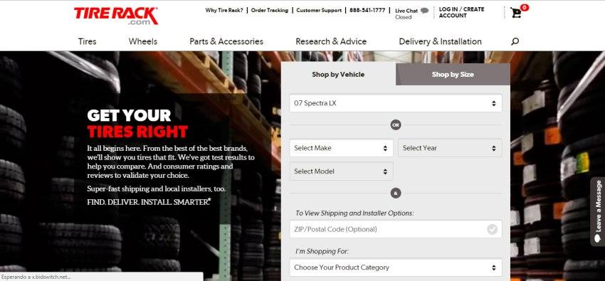 Neumáticos TireRack.com