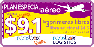 plan aéreo loyalty Ecosbox