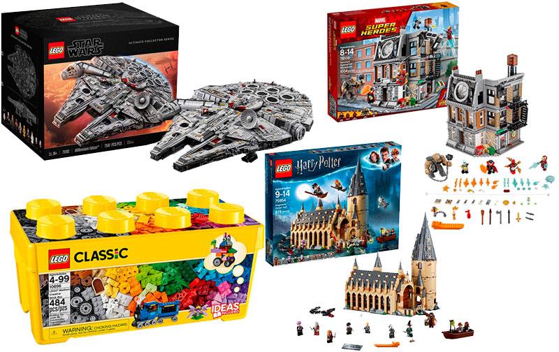 Lista de Juguetes de Amazon - Legos