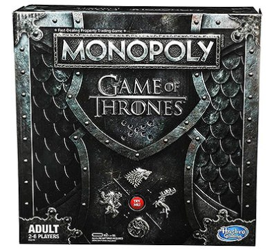 Juego de mesa Monopoly Game of Thrones para adultos