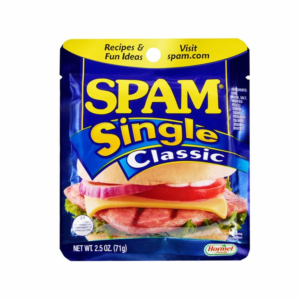 Spam Single Classic, 2.5 onzas