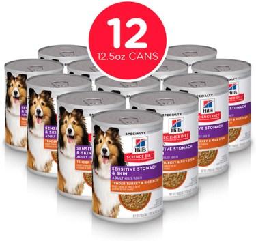 Hill's Science Diet, Alimento para perros adultos, estómago y piel sensibles