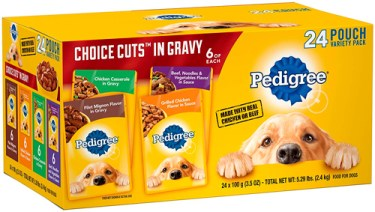 Alimento para perros Pedigree Choice Cuts in Gravy
