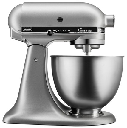 KitchenAid Classic Series batidora de pedestal con cabezal inclinable