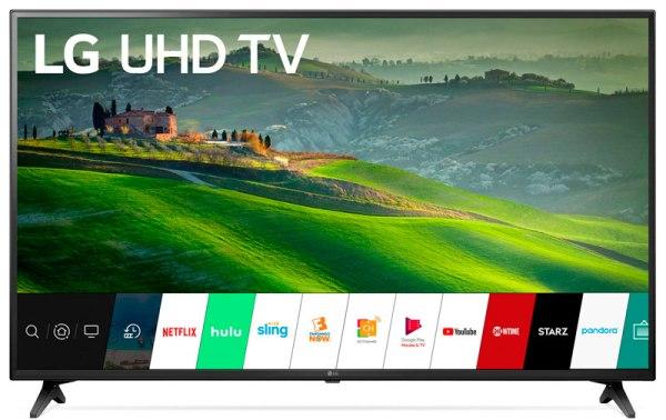 Cyber semana de ofertas en Walmart TV inteligente LG