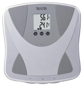 Tanita BF679 W báscula grasa corporal y cantidad de agua