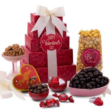 Regalos para San Valentín - Heart Gift Tower
