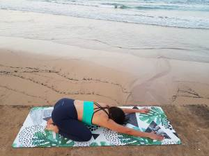 Eco Friendly Yoga Mat Palm Forest