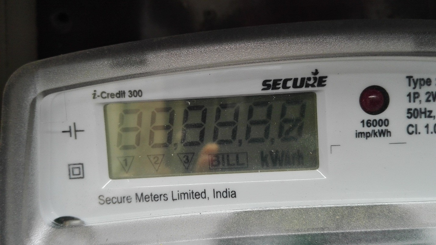 How To Read A Bidirectional Meter