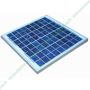 Panneau solaire 10Wc 12V
