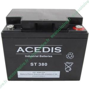 Batterie étanche AGM ST380