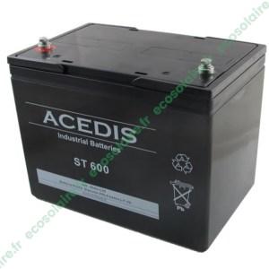 Batterie étanche AGM ST600