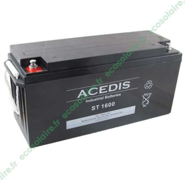 Batterie étanche AGM ST1600