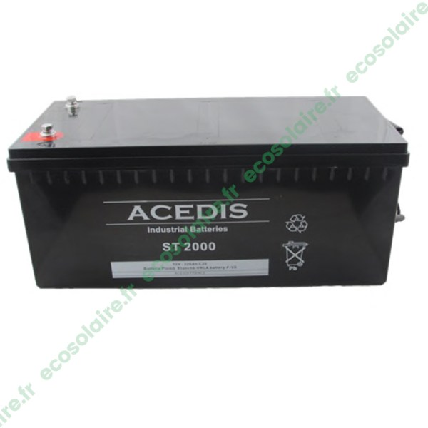 Batterie étanche AGM ST2000