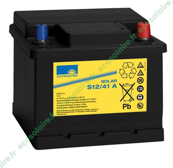 Batterie Sonnenschein Solar S12/41