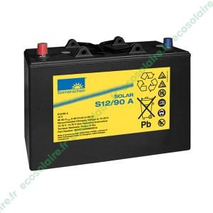 Batterie Sonnenschein Solar S12/90