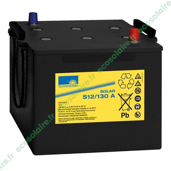 Batterie Sonnenschein Solar S12/130
