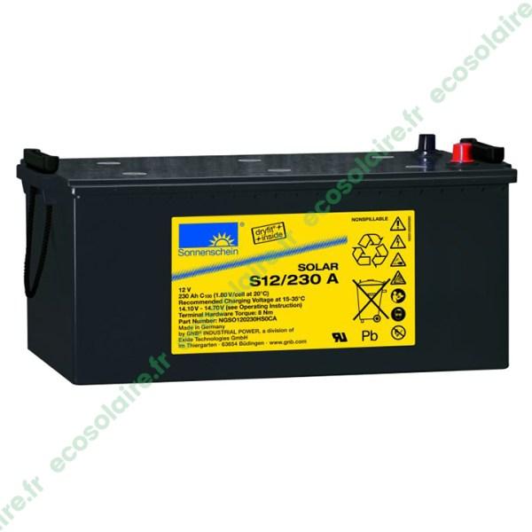 Batterie Sonnenschein Solar S12/230