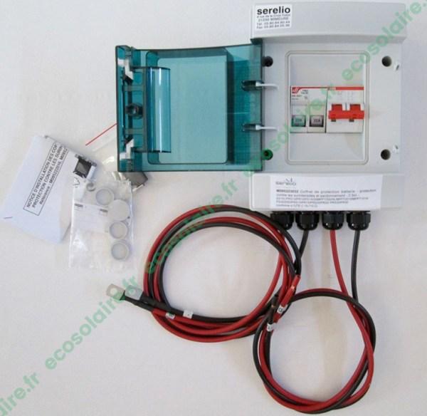 Coffret de protection batterie - 32A
