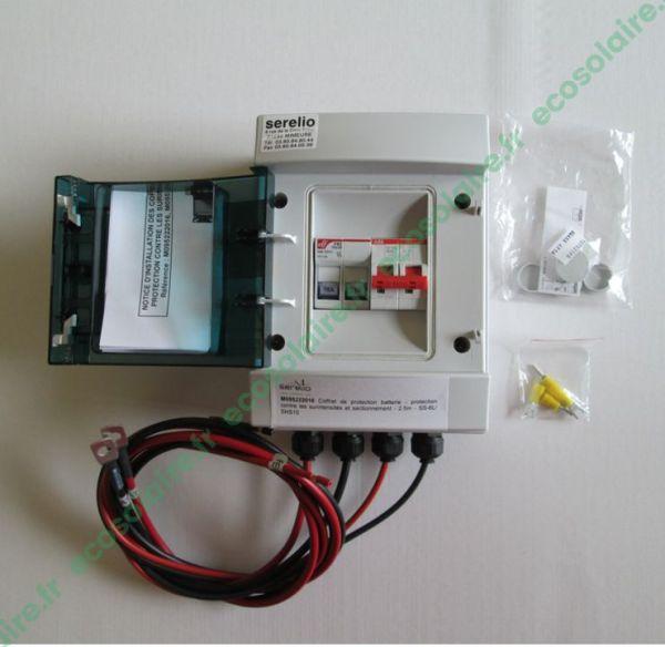 Coffret de protection batterie - 16A