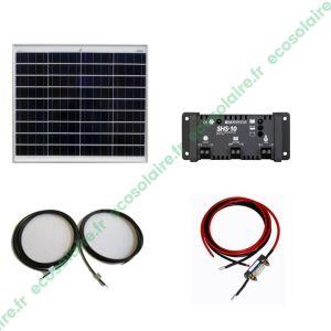 Kit autonome solaire 50W
