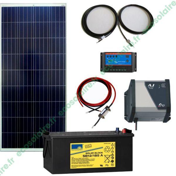 kit autonome solaire 150W 230V