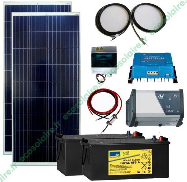 Kit autonome solaire 320W 230V