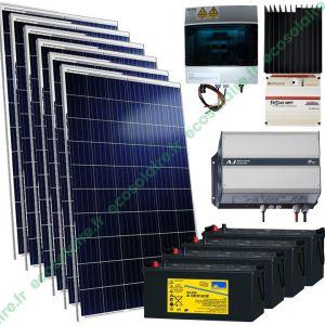 kit autonome solaire 1710W 230V