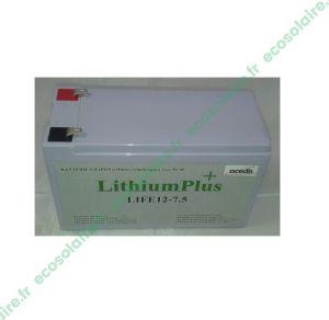 Batterie Lithium LiFePO4 LIFE12-7