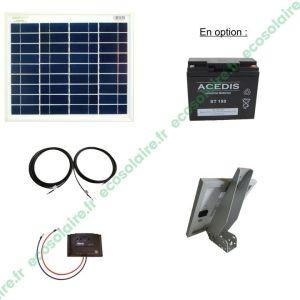 Kit autonome solaire 12W