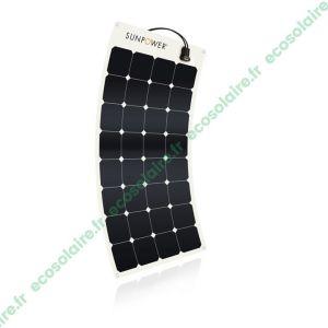 Panneau solaire souple SunPower® SPR-E-Flex-100