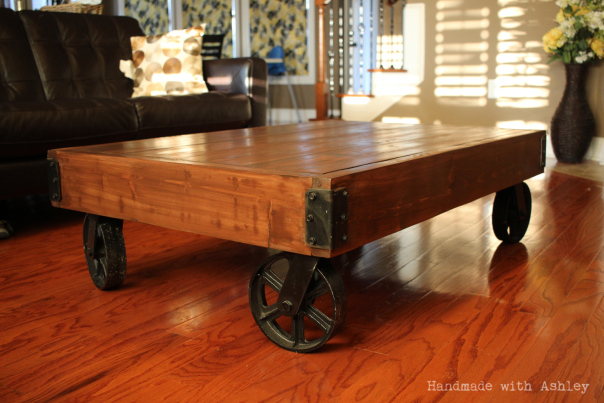 ECOS Project Pick: DIY Factory Cart Coffee Table