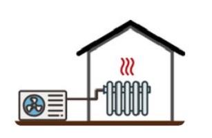 pompe di calore e termosifoni