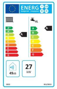 caldaie a condensazione - etichetta energetica