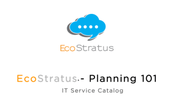 PLANNING 101 – ServiceNow Content Management | EcoStratus