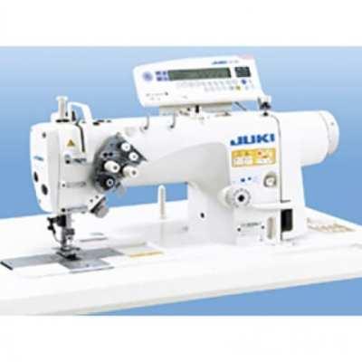 Máquina de coser industrial de dos agujas fijas. Juki lh-3528agf