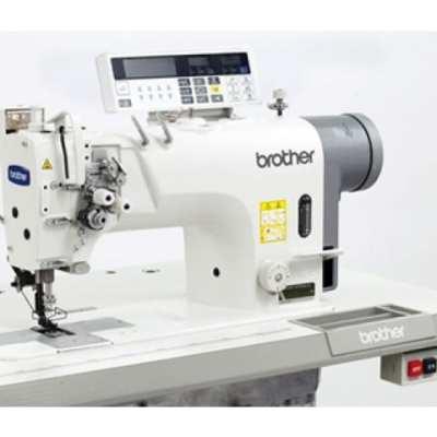 Máquina de dos agujas, doble arrastre, motor direct drive y cortahilos t-8422c-403/405