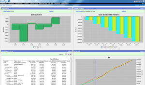 EcoSys Projects Earned Value Management (EVM) Dashboard