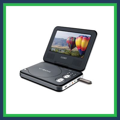 Alquiler Reproductor de DVD portatil