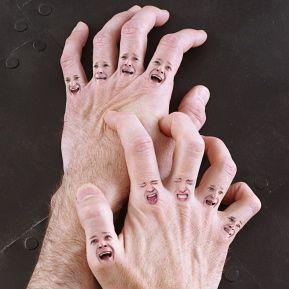 Manos doloridas